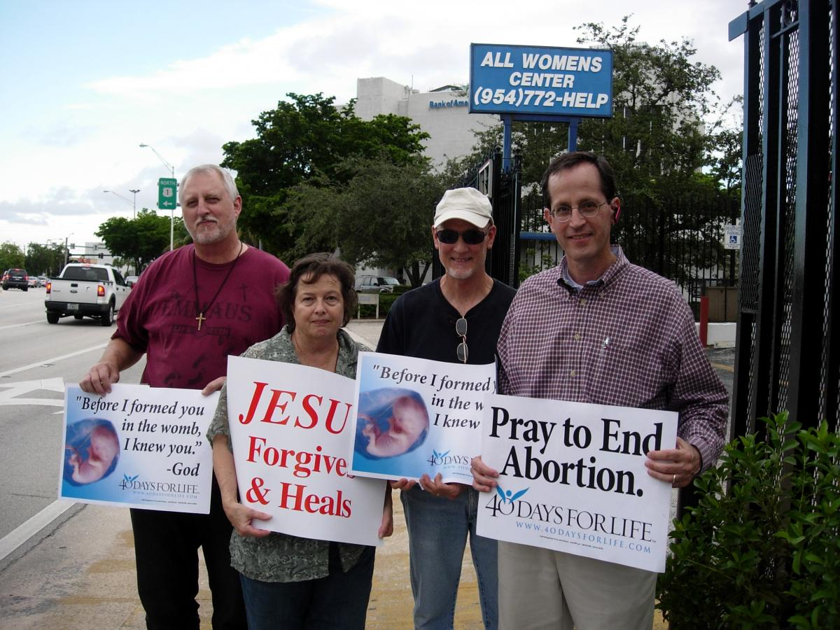 40 Days for Life Fort Lauderdale - X